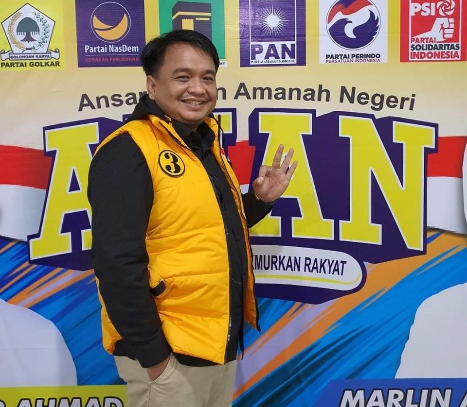 Ade Angga Sang Ketua Tim Ansar-Marlin