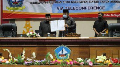 Photo of DPRD Bintan Sahkan APBD Perubahan Tahun 2020 Senilai Rp 1,3 Triliun