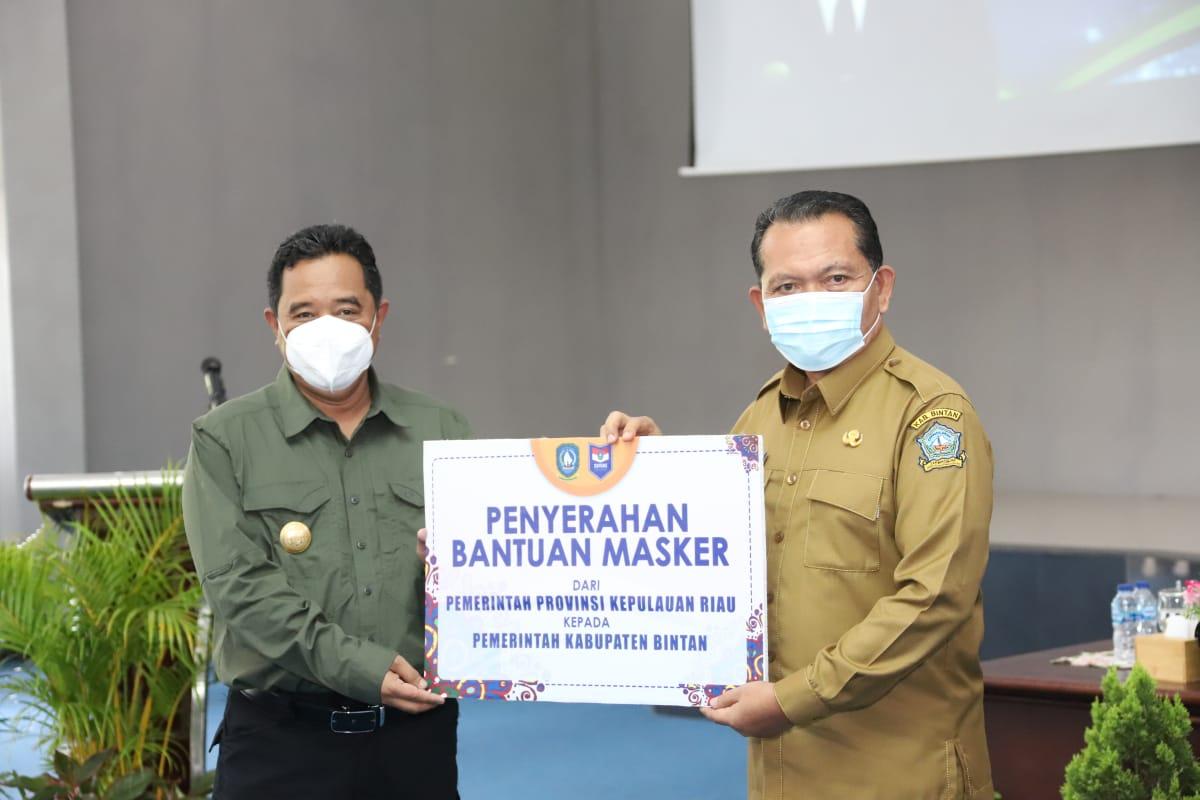Pjs Bupati Bintan Terima Kunjungan Kerja Pjs Gubernur Kepri
