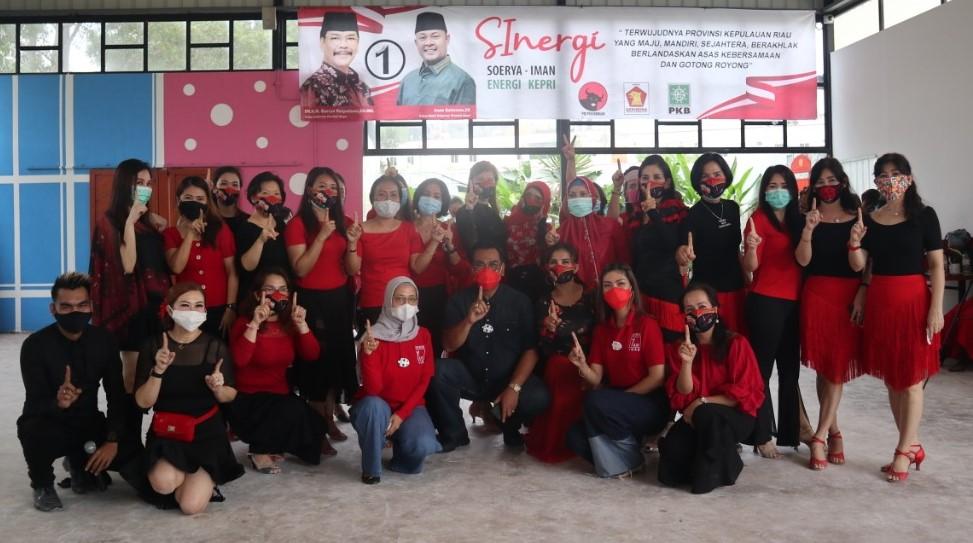 Prioritaskan Kesetaraan Gender, Soerya – Iman Banjir Dukungan Kaum Perempuan