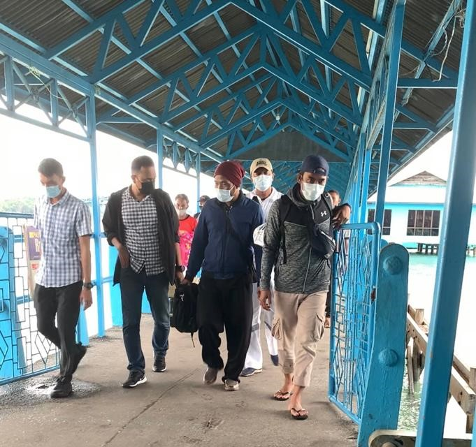 Polisi Tangkap Mantan Kades Penuba Timur Atas Dugaan Korupsi Dana Desa