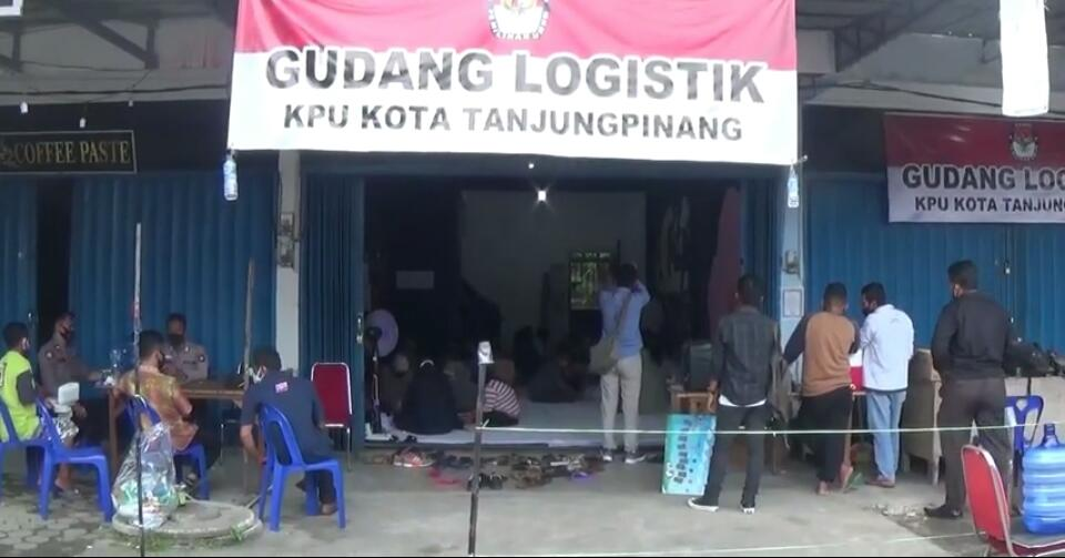 Jelang Pilkada, KPU Tanjungpinang Siapkan Distribusi Logistik ke PPS