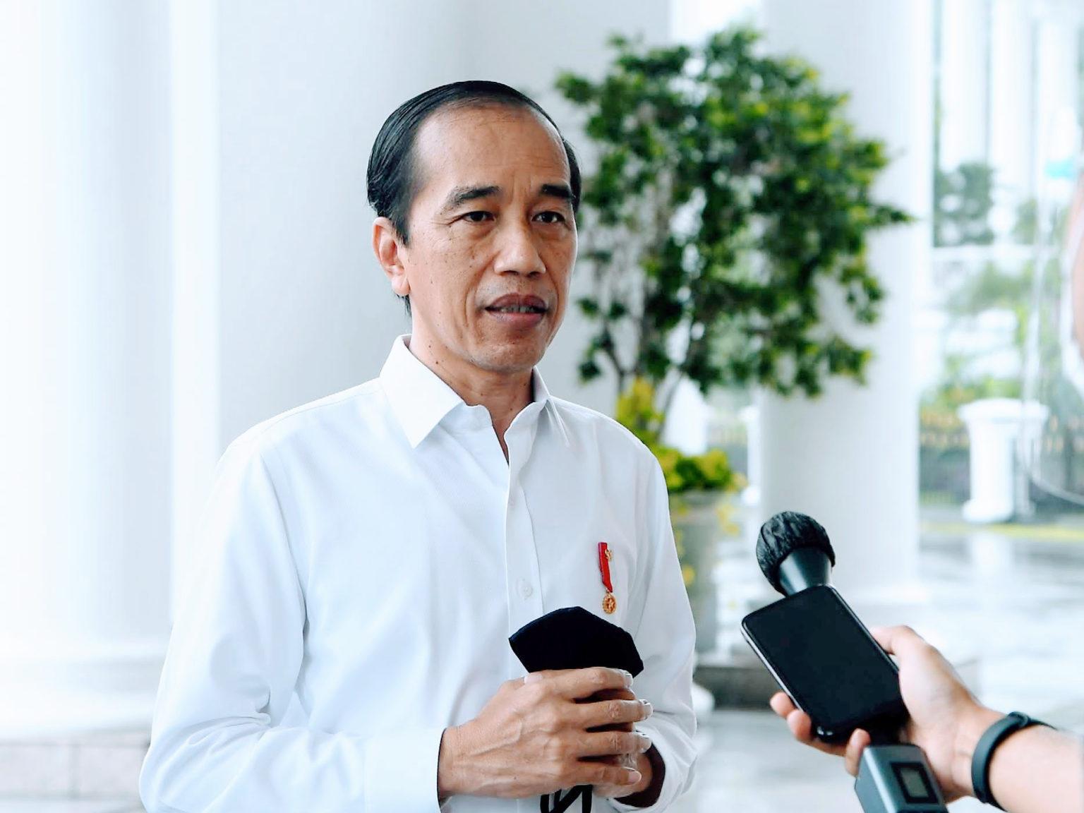 Presiden Jokowi Tegaskan Tidak Lindungi Pejabat Korupsi