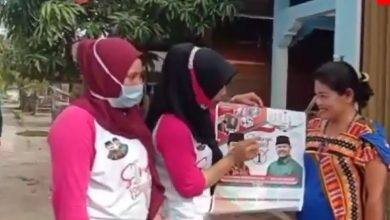 Photo of Srikandi Moro Sosialisasikan Paslon Soerya – Iman ke Warga Pulau Jang