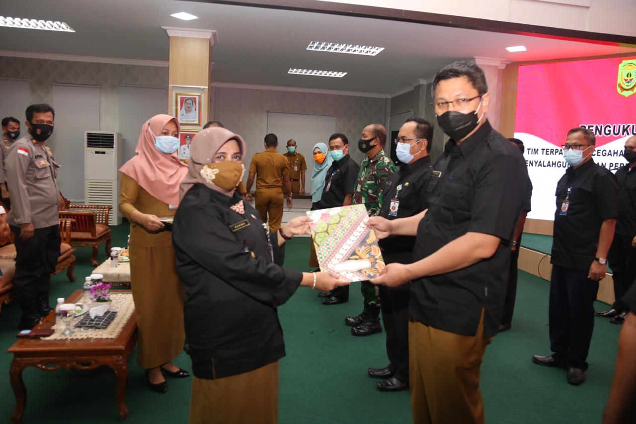 Wako Rahma Kukuhkan Tim Terpadu P4GN Kota Tanjungpinang