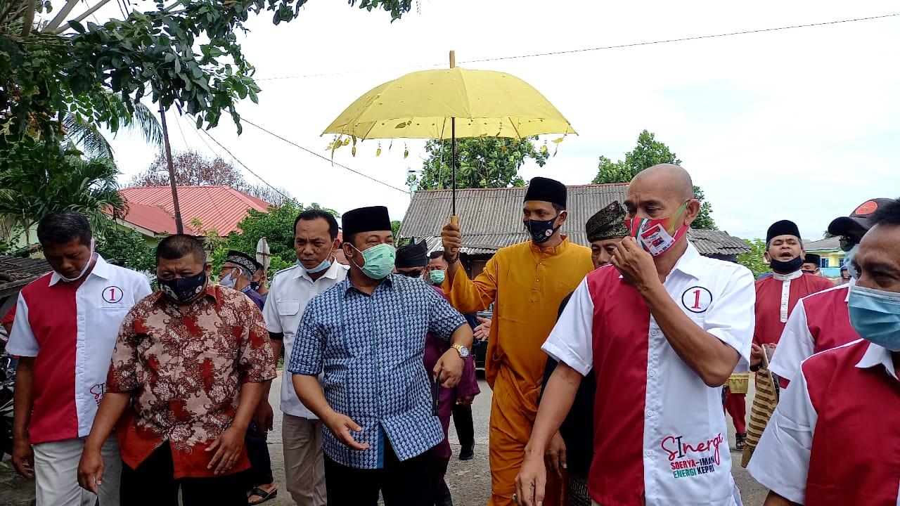 Kampanye Terakhir, Iman Sutiawan Keliling Bintan